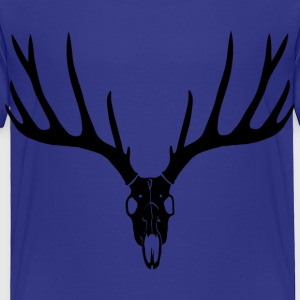 deer skull hunter hunting buck cervine antler stag Baby & Toddler Shirts - Toddler Premium T-Shirt