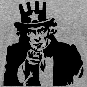 Uncle Sam T-Shirts - Men's Premium T-Shirt