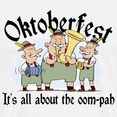 Oktoberfest It's All About The Oom Pah T-Shirt