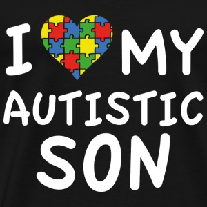 I Love My Autistic Son - Men's Premium T-Shirt