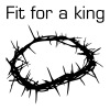 Jesus Thorn Crown T-Shirts - Men's Premium T-Shirt