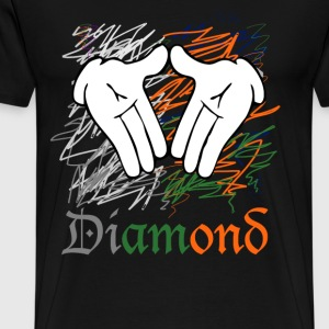 diamond hands T-Shirts - Men's Premium T-Shirt
