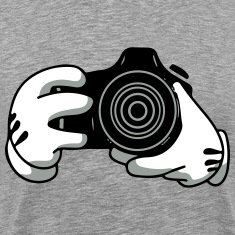 mickeys camera T-Shirts