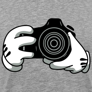 mickeys camera T-Shirts - Men's Premium T-Shirt