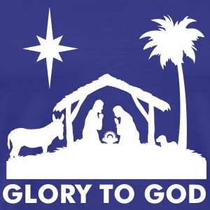 Nativity Scene T-Shirts - Men's Premium T-Shirt
