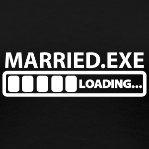 married exe loading Women's T-Shirts - Women's Premium T-Shirt