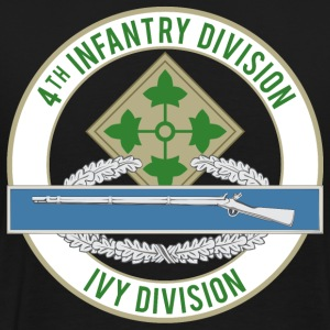 4th Infantry CIB - Men's Premium T-Shirt