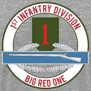 1st Infantry CIB - Men's Premium T-Shirt