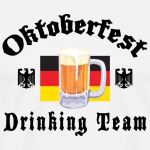 Oktoberfest Drinking Team T-Shirt - Men's Premium T-Shirt