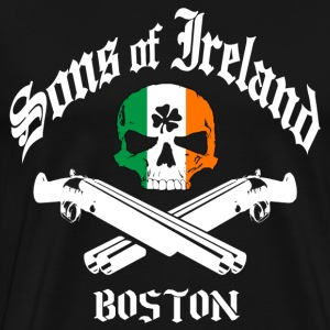 Sons of Ireland - Boston - Men's Premium T-Shirt