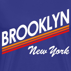 Vintage Retro Brooklyn New York City - Men's Premium T-Shirt