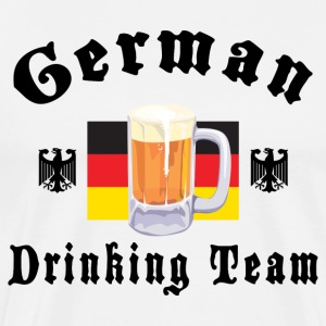 German Drinking Team T-Shirt - Men's Premium T-Shirt