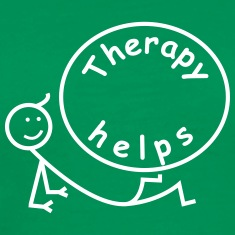 Therapy helps. T-Shirts