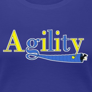 agility tunnels small Women's T-Shirts - Women's Premium T-Shirt