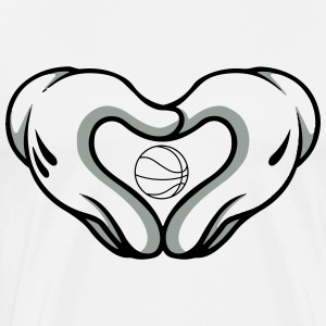love basketball T-Shirts - Men's Premium T-Shirt