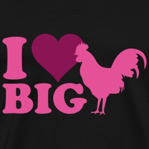 I Love Big - Men's Premium T-Shirt