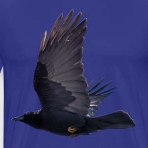 Flying Black Raven - Men's Premium T-Shirt