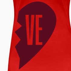 ve - love right side Women's T-Shirts