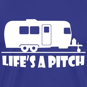 lifes_a_pitch T-Shirts - Men's Premium T-Shirt