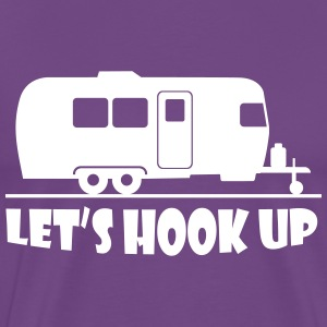 lets_hook_up T-Shirts - Men's Premium T-Shirt
