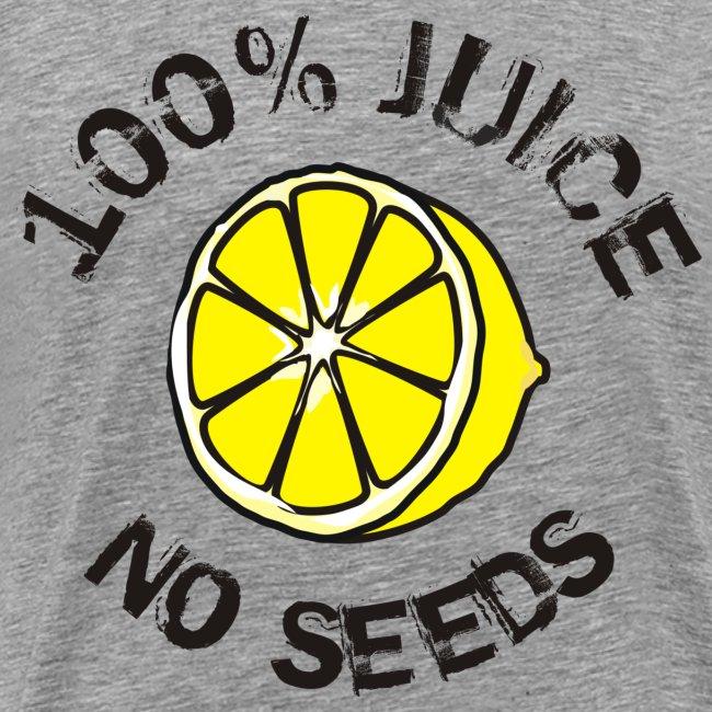 100% Juice, No seeds