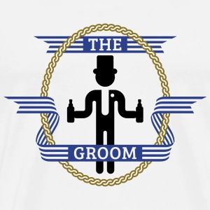 The Groom (3C) T-Shirts - Men's Premium T-Shirt