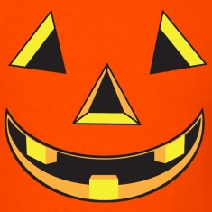 Pumpkin Face Costume T-Shirts