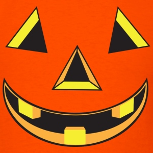 Pumpkin Face Costume T-Shirts - Men's T-Shirt