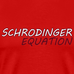Shrodinger Equation - Men's Premium T-Shirt