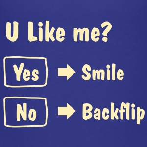 Smile or Backflip T-shirt - Kids' Premium T-Shirt