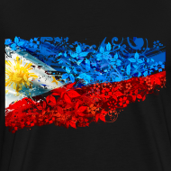 Design ~ 3XL or 4XL Filipino Flag Shirt