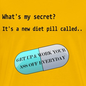 Diet Pill - Men's Premium T-Shirt
