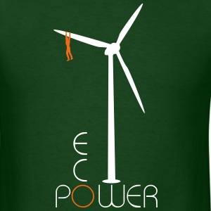 Eco Power pinwheel - Men's T-Shirt