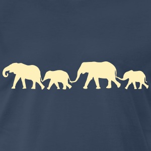 elephant Family Shirt - Men's Premium T-Shirt