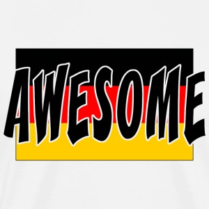 Awesome German T-Shirt - Men's Premium T-Shirt