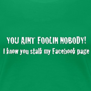 FB Green - Women's Premium T-Shirt