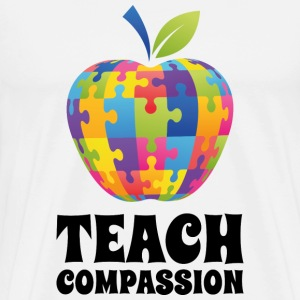 Teach Compassion - Men's Premium T-Shirt