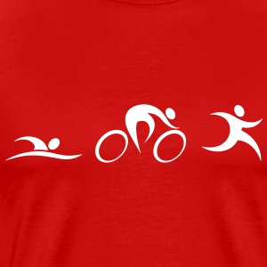 Triathlon Icons T-Shirts - Men's Premium T-Shirt