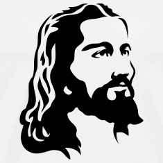 Jesus Christ Head T-Shirts