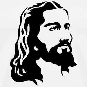 Jesus Christ Head T-Shirts - Men's Premium T-Shirt