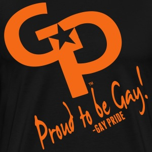 GAY PRIDE-PROUD TO BE GAY! T-Shirts - Men's Premium T-Shirt