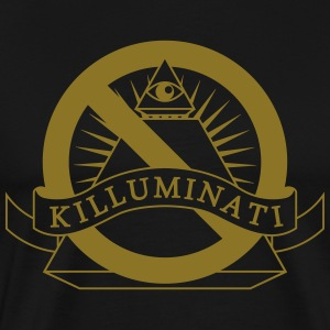 NWO Killuminati (1 Color) T-Shirts - Men's Premium T-Shirt