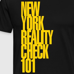 NY Reality Check - Men's Premium T-Shirt