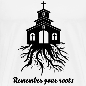 Church Roots T-Shirts - Men's Premium T-Shirt