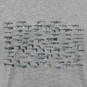 So Many Guns - Men's Premium T-Shirt