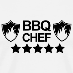 Grill,Grilling,BBQ,cooking,chef,meat,summer,sausag T-Shirts