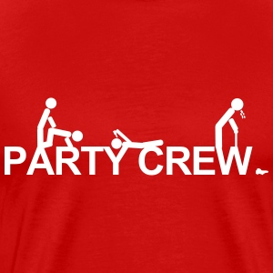 Malle,Mallorca,party,drinking,holidays,crew, alk T-Shirts - Men's Premium T-Shirt