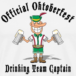 Oktoberfest Drinking Team Captain T-Shirt - Men's Premium T-Shirt