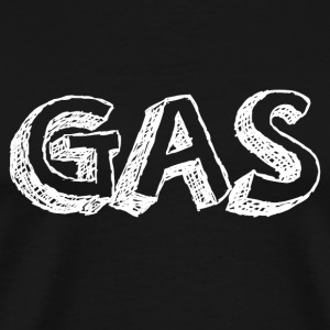 GAS WHITE T-Shirts - Men's Premium T-Shirt