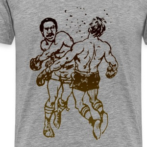 Boxing - Punch Out - Retro Video Game T-Shirts - Men's Premium T-Shirt